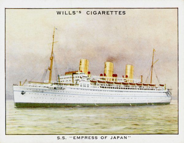 Passenger ship of the Canadian Pacific line