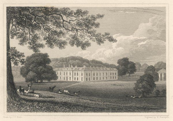Althorp House, Northamptonshire, the seat of Earl Spencer