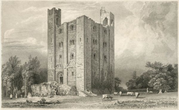 One of the best preserved Norman keeps in England, Hedingham Castle was built by the de Veres, the Earls of Oxford, in 1140