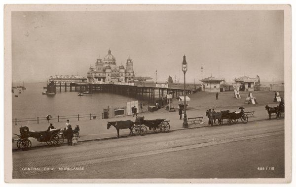 Morecambe, Lancashire: The central pier