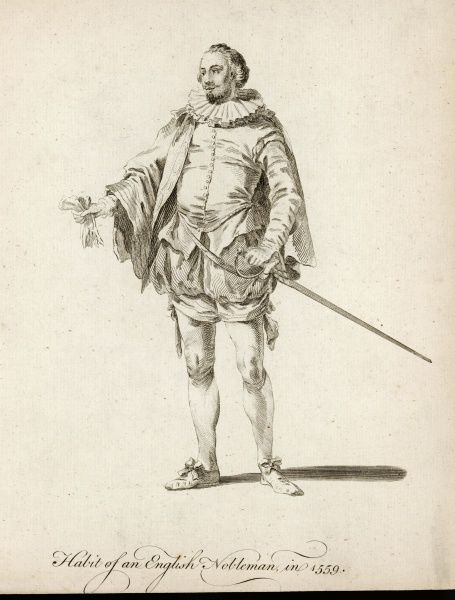 Habit of an English nobleman