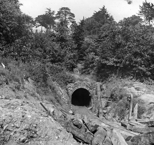 View of the entrance to Baldwin's Level near Pontypool in South Wales