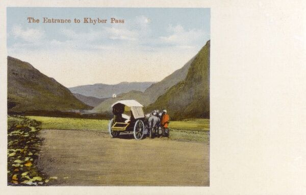 Entrance to the Khyber Pass, North West Frontier Province Date: circa 1920