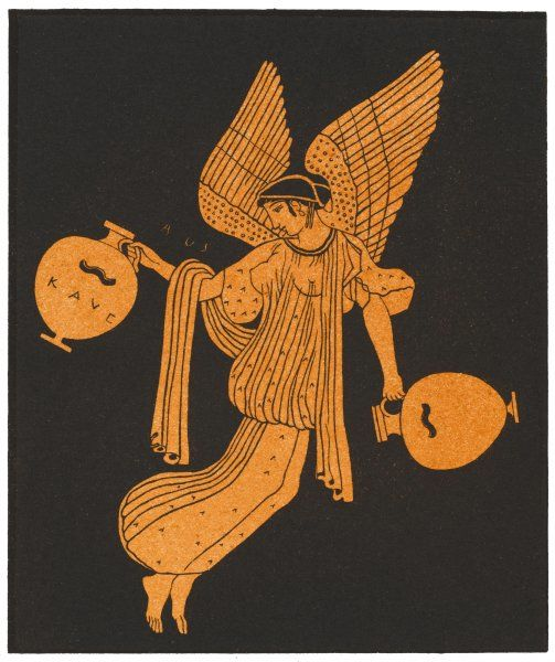 The Greek Goddess of the Dawn, known to the Romans as Aurora