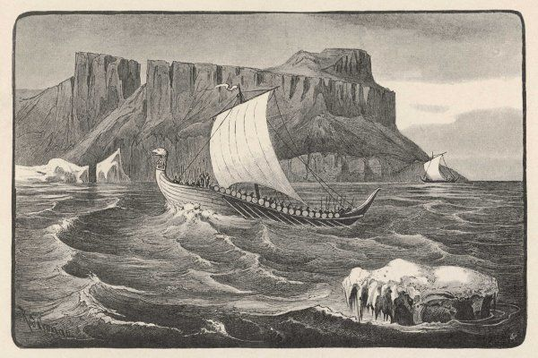 Eric the Red (father of Leif Eriksson - who landed in North America circa 1000) reaches Greenland