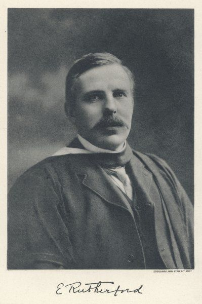 ERNEST RUTHERFORD physicist