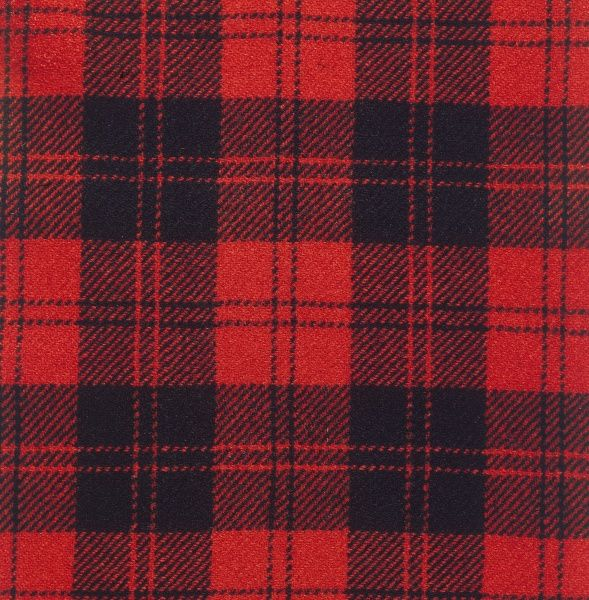 The Erskine tartan of Scotland. Date: photo taken 1971