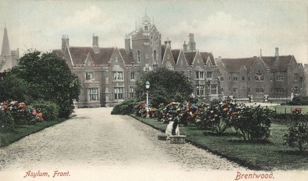 The Essex County Lunatic Asylum was established in 1853 at Warley Hill, Brentwood, Essex. It later became Brentwood Mental Hospital and then Warley Hospital