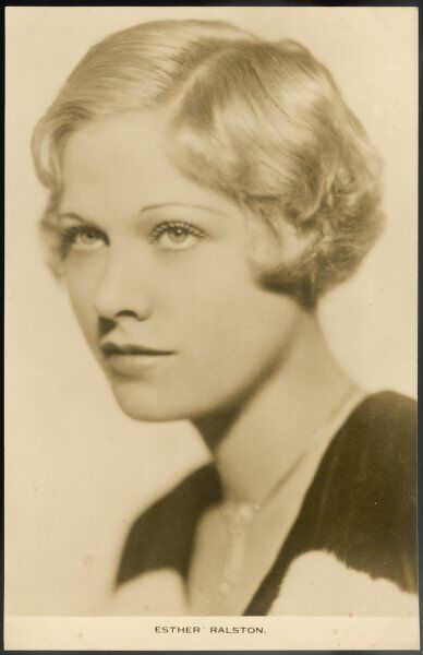 ESTHER RALSTON American actress in 1920s and 30s films