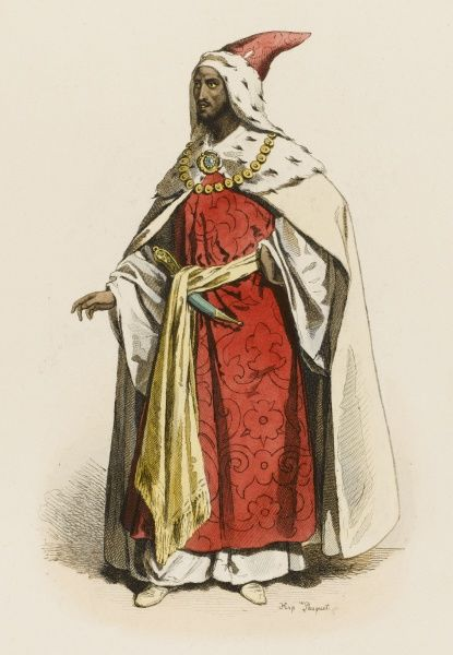 An noble of the Ethiopian court