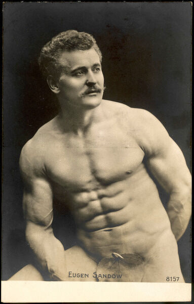 EUGEN SANDOW American exponent of physical fitness