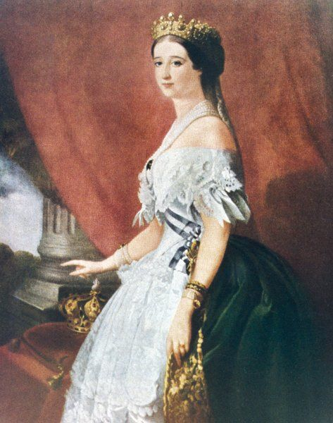 EUGENIA MARIA DE MONTIJO DE GUZMAN Wife of Napoleon III and Empress of France from 1853 to 1871