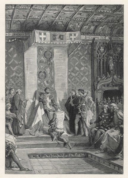 Amedeo VI, ruler of Savoy, institutes the Order of the Collar, known as the Annunziata