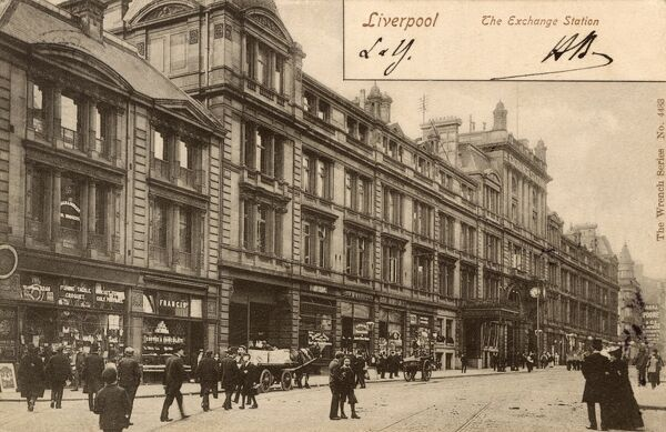 The Exchange Railway Station - Liverpool Date: circa 1907