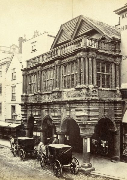 The Guildhall, Exeter, Devon Date: circa 1890