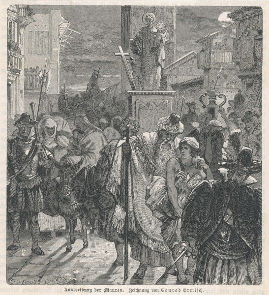 The expulsion of the Moors