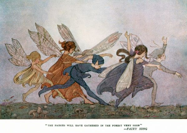 The fairies will have gathered in the forest very soon (Fairy Song).  1920s