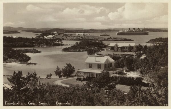 Fairyland and Great Sound - Bermuda Date: 1933