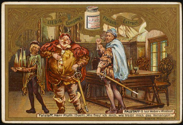 Falstaff and Flute at the tavern