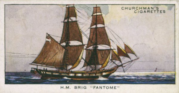 Brigantine of the Royal Navy
