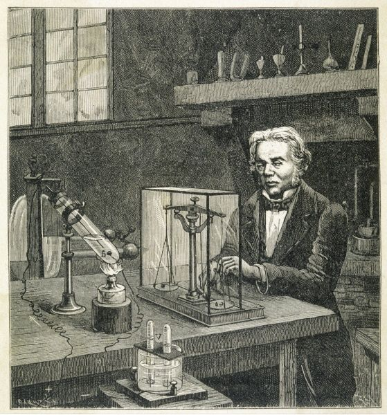 MICHAEL FARADAY - English scientist establishing the fundamental law of electrolysis