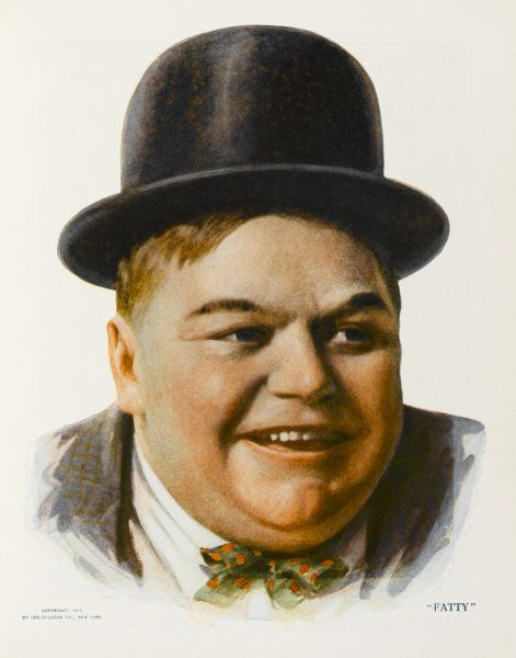 ROSCOE 'FATTY' ARBUCKLE American film actor