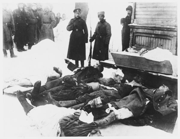 Victims of the 'February Revolution&#39