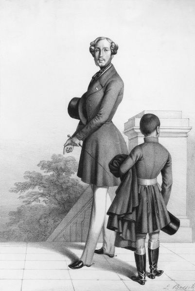 FERDINAND PHILLIPPE duc d'ORLEANS son of Louis Philippe, military commander in Algeria. Date: 1810 - 1842