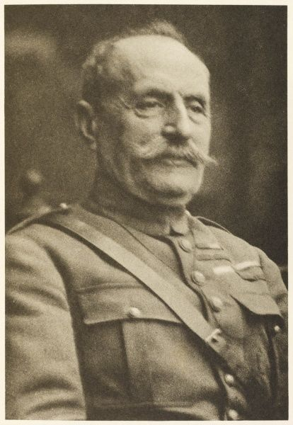 FERDINAND FOCH French soldier