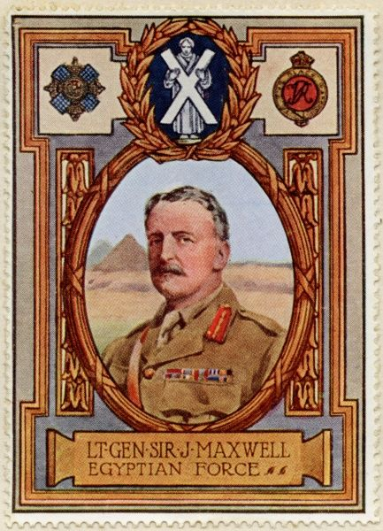 General SIR JOHN GRENFELL MAXWELL (1859 - 1929) British Army officer and colonial governor