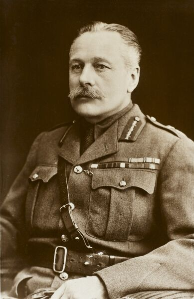 Field Marshall Sir Douglas Haig (1861 - 1928). Commander-in-chief of the British Forces in France and Flanders during the Great War