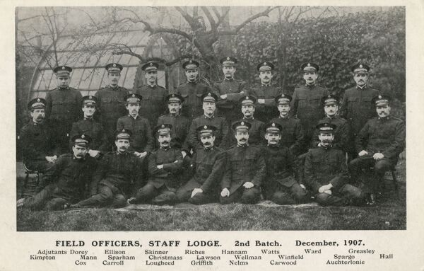 Field Officers, Staff Lodge, 2nd Batch - Salvation Army