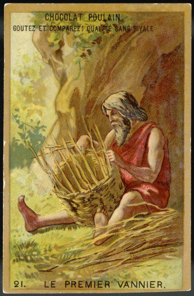 THE FIRST BASKET-WEAVING