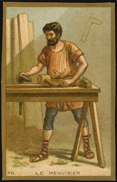 THE FIRST WOODWORKING