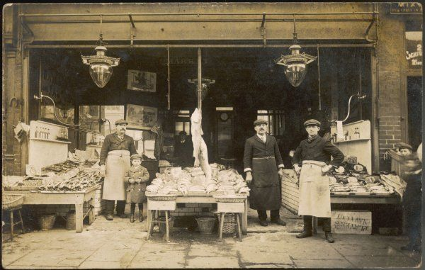Fishmonger's in Holloway, North London