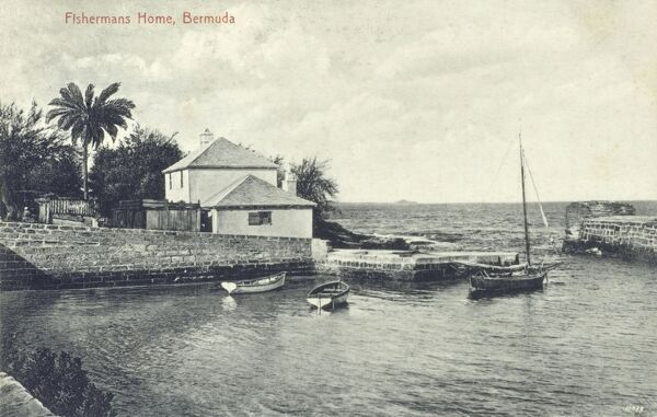 A Fisherman's home, Bermuda, West Indies Date: circa 1910s