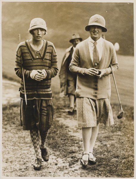 Miss Diana Fishwick, winner of the British Ladies' Championship in 1930 when only nineteen years of age