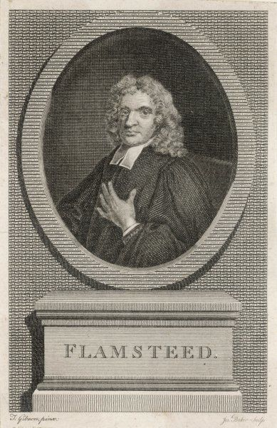 JOHN FLAMSTEED English clergyman and astronomer; first astronomer royal (1675)
