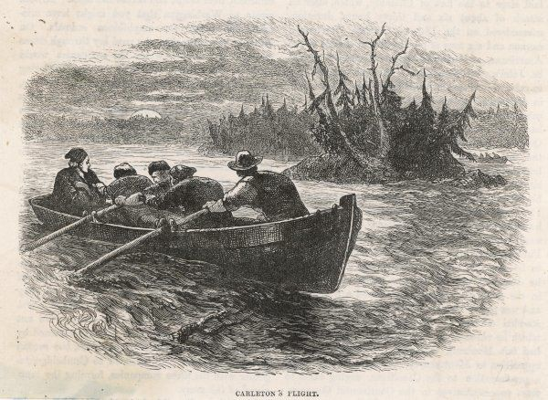Guy Carleton, British governor of Quebec, escapes capture by American troops who have taken Montreal as part of the Independence war by disguising himself as a fisherman