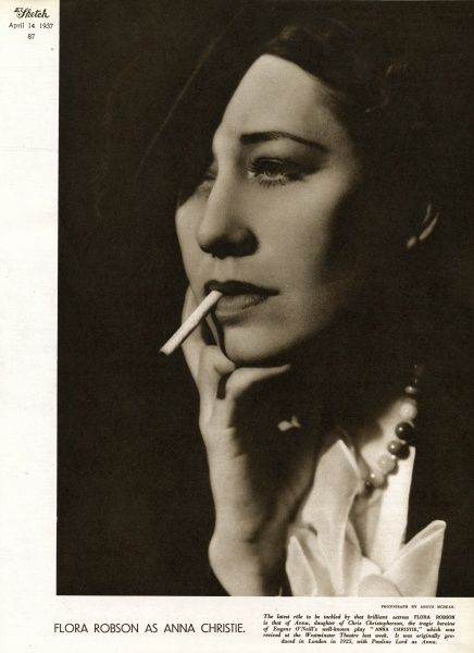 (Dame) Flora Robson (1902 - 1984) English actress of stage and screen. Date: 1937