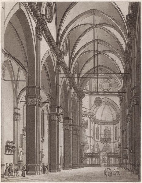 Interior of the Duomo (cathedral)