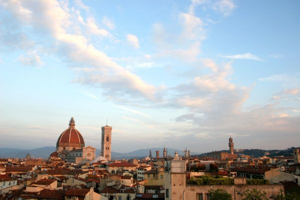 The Duomo, or Cathedral of Santa Maria del Fiore in Florence, Italy