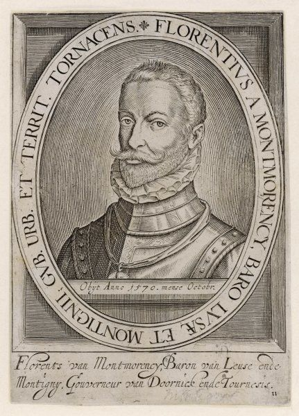 FLORENT de MONTMORENCY French nobleman and soldier