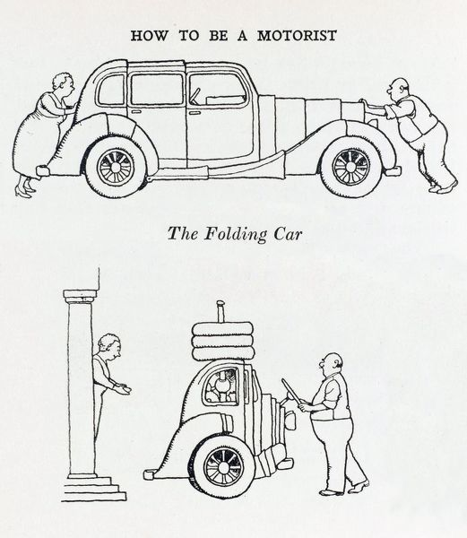 The 'Collapso' folding car, to house your car overnight in the oddest of places such as sheds and wardrobes