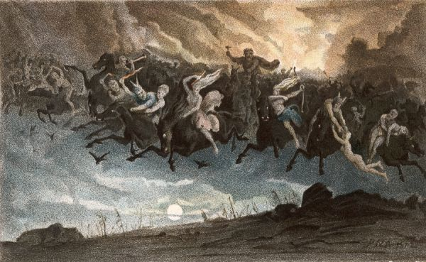 Asgaardsreiden, Norwegian myth of the Wild Hunt