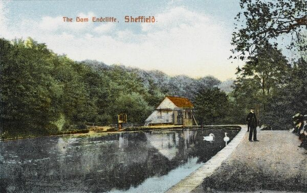 The Forge Dam at Endcliffe, Sheffield, Yorkshire