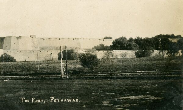 The Fort. Located on the edge of the Khyber Pass near the Afghan border, Peshawar is the commercial, economic, political and cultural capital of the Pashtuns in Pakistan