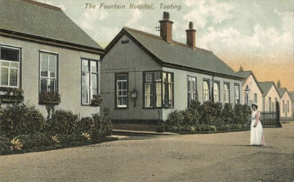 The Fountain Hospital at Tooting in Surrey (now South London) was opened in 1893 as a fever hospital by the Metropolitan Asylums Board. In 1911, it was redesignated as a mental hospital for severely subnormal children