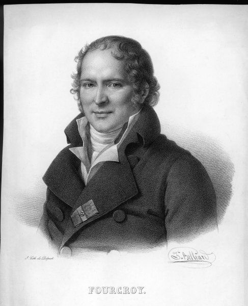 ANTOINE FRANCOIS, comte de FOURCROY French chemist and statesman