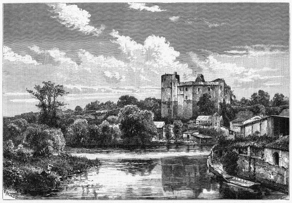 The ruined chateau of Clisson, in Brittany, was once the home of the Clisson family, of whom the most famous (or notorious) was Olivier de Clisson, known as 'the butcher&#39